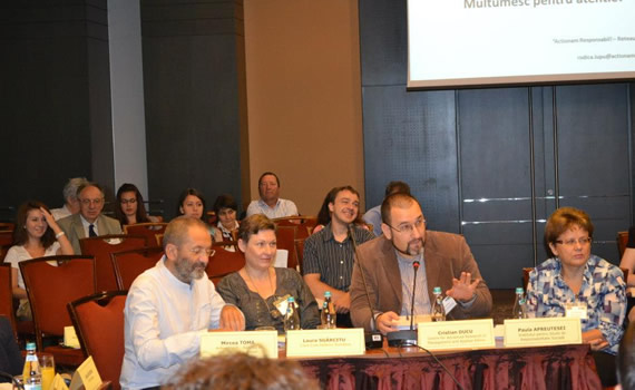 JCI Romania Roundtable on Romanian National Strategy for Social Responsibility (September 28, 2012)